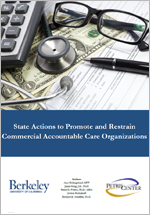 State Actions to Promote and Restrain Commercial Accountable Care Organizations