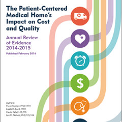 The Patient-Centered Primary Care Collaborative Releases 5th Annual Evidence Report